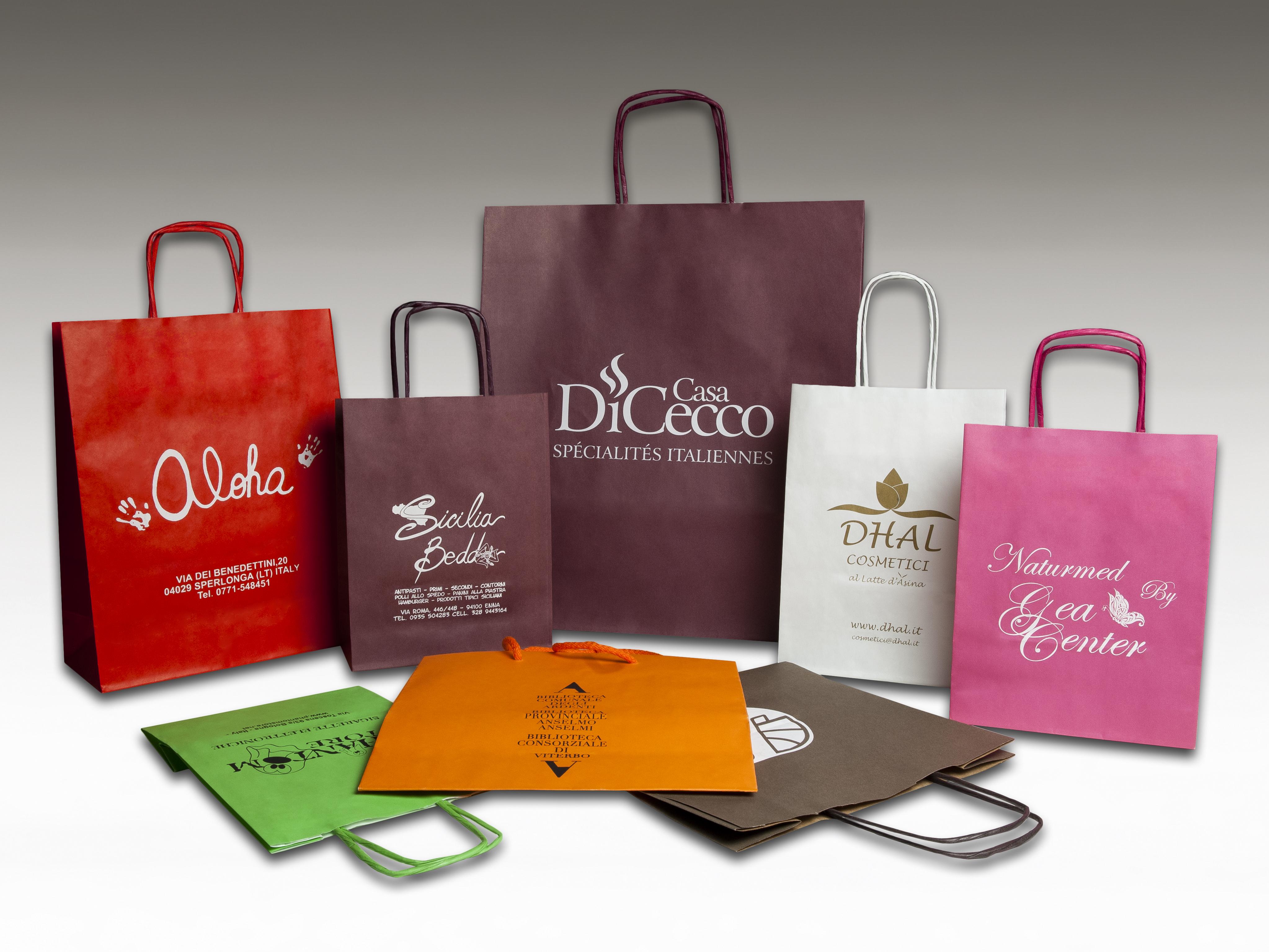 Italy Shoppers – Vendita di buste di carta