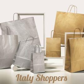 Shopper Oro o Argento (18+8x24) Pz 400