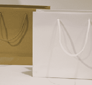 Busta e Shopper in carta Lusso