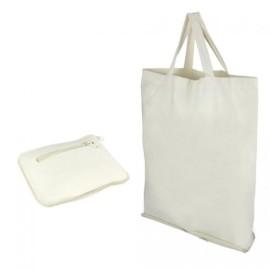 Shopper Cotone Pieghevole (38x12x42)