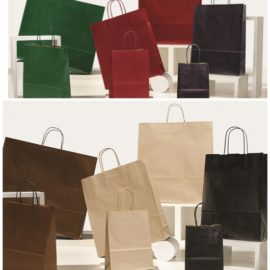 Shopper Sea Colorata (27+12x37) Pz 250