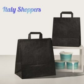 Shopper Take Away Colorato (32+22x34) Pz 250