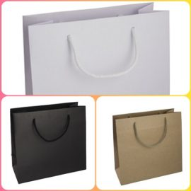 Shopper Elegance Neutro (20+10x26+5 ) Pz 200